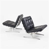 lounge chairs (pair) by paul leidersdorff
