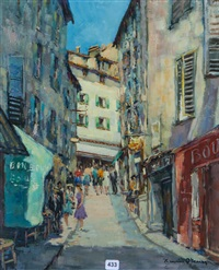 grasse, rue de l'oratoire by henri stenn