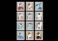 beauty months (12 works) by akiyoshi ikeuchi