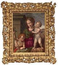 sacra famiglia con san giovannino by bacchiacca