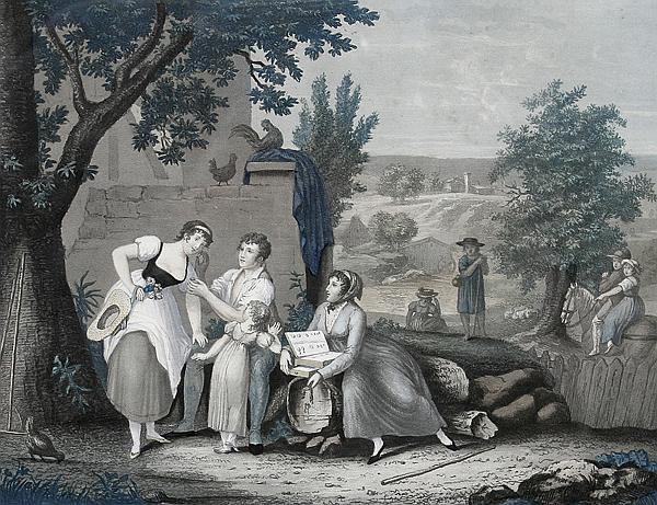 la galanterie villageoise by jean pierre marie jazet