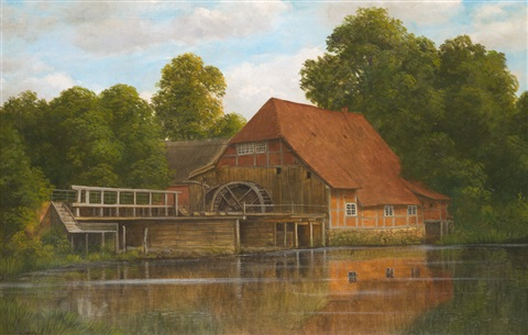 alte wassermühle by ludwig fischbeck