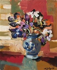 untitled (bouquet) by walter spitzer