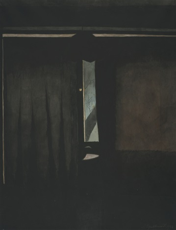 Int rieur la fen tre entrouverte by l on spilliaert on for Fenetre in english