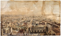 new orleans from st. patrick's church, 1852 by benjamin franklin smith and john william hill