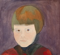 portrait of a child by maria ender