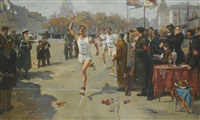 the finish by viktor aleksandrovich tsvetkov