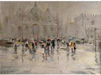 venise après la pluie by viktor babentsev