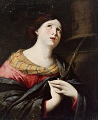 die heilige barbara by giacinto gemignani