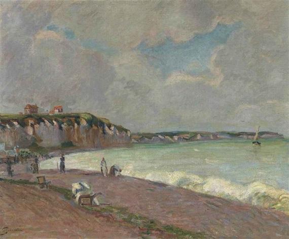 paysage de la manche by armand guillaumin