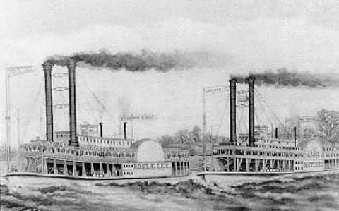 the great race on the mississippi by france m folse