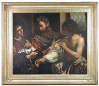 the return of the prodigal son by guercino