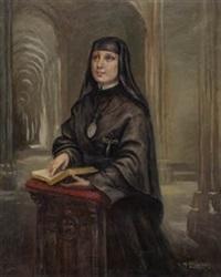 retrato de religiosa by manuel abelenda