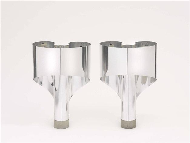 ein paar tischlampen spinnaker pair by giorgio wiskemann costantino corsini
