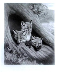 little foxes by william henry simmons