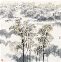 家住江南黄叶标 by jiang feng