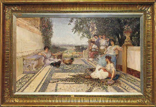 classical maidens by domenico pennachini