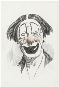 recueil de croquis et dessins préparatoires sur le thème du cirque (more than 130 works) by edouard elzingre