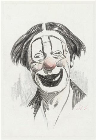 recueil de croquis et dessins préparatoires sur le thème du cirque more than 130 works by edouard elzingre