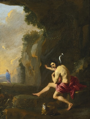 saint john the baptist by karel dujardin