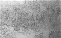 rudolf von habsburg sieger uber przemisel ottokar bei    stilfried (schlacht bei durnkrut 1278) by emmanuel kratky