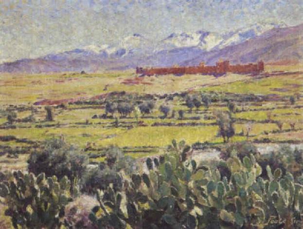 Casbah Dans Latlas By Leslie Robert Poole Smith On Artnet