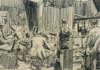 the langham sketch club by steven spurrier