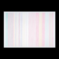 untitled - pink stripes by gene davis