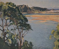 morning, nambucca heads by john william (sir) ashton
