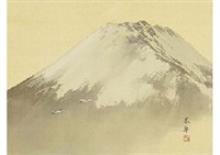 mt. fuji by shunkyo yamamoto