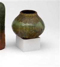 pair of vases by fantoni