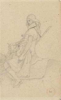 cavalier by eugène fromentin