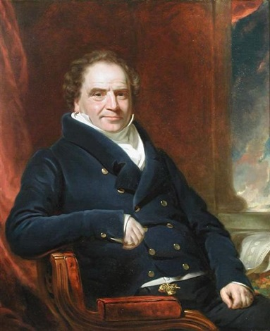 portrait of sir edward banks by william jnr patten