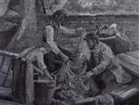 kalastajat - fiskare by orvo raatikainen