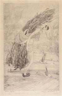 kashmiri woodcutter by abdur rahman chughtai