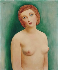 nu blond by moïse kisling