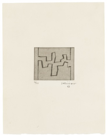 ze i v set of 5 by eduardo chillida