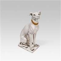 igor (hund mit halsband) by helmut leherb