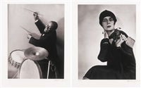 buddy gilmore, paris (+ 3 others; 4 works) by berenice abbott