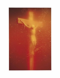 piss christ by andres serrano
