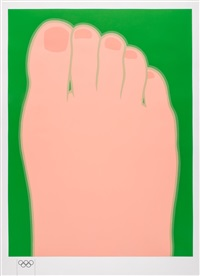 great american foot by tom wesselmann
