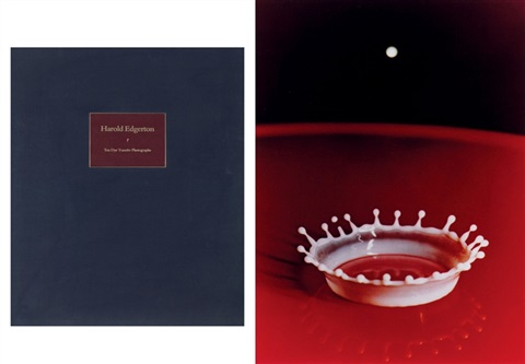 harold edgerton ten dye transfer photographs folio of 10 wtext by harold eugene edgerton