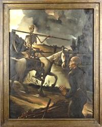 la mort et le bucheron by marcel gillis
