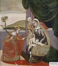 die mystische vermählung der heiligen katharina by anonymous-italian (16)