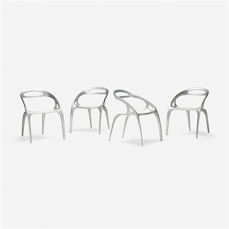 go chairs set of four by ross lovegrove on artnet