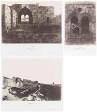 jérusalem : étude et reproduction photographique des monuments de la ville sainte, depuis l'époque judaïque jusqu'à nos jours (27 works) by auguste salzmann