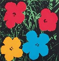 andy warhol (flowers) by richard pettibone