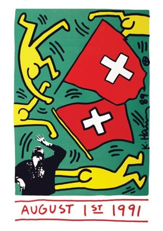 august 1 1991 by keith haring