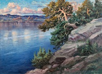 view by the sea by arthur heickell