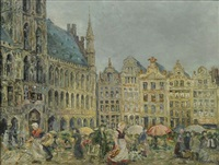 markttag in brüssel by vetter